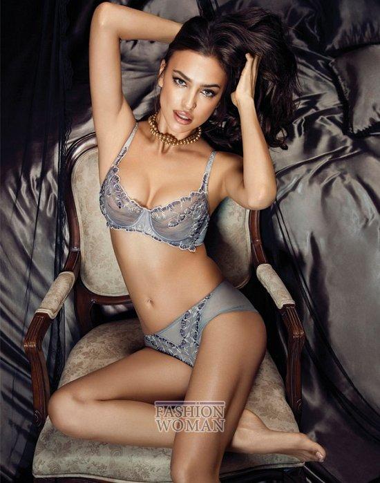 Ирина Шейк в рекламе нижнего белье La Clover  фото №11