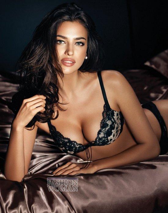 Ирина Шейк в рекламе нижнего белье La Clover  фото №3