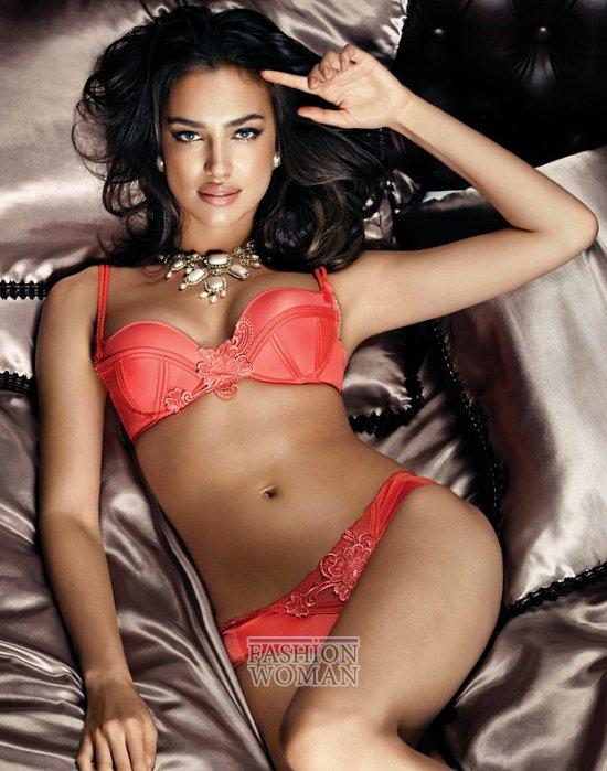 Ирина Шейк в рекламе нижнего белье La Clover  фото №4