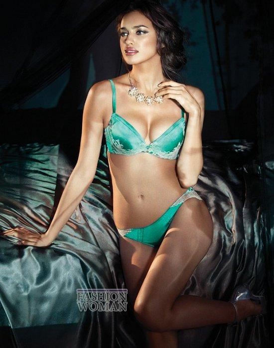 Ирина Шейк в рекламе нижнего белье La Clover  фото №5