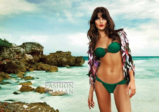 Изабели Фонтана в рекламе купальников Morena Rosa фото №13