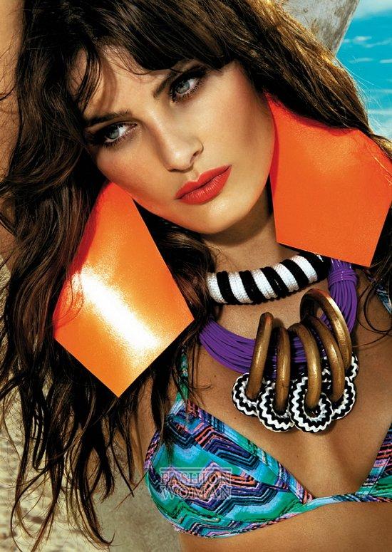 Изабели Фонтана в рекламе купальников Morena Rosa фото №3