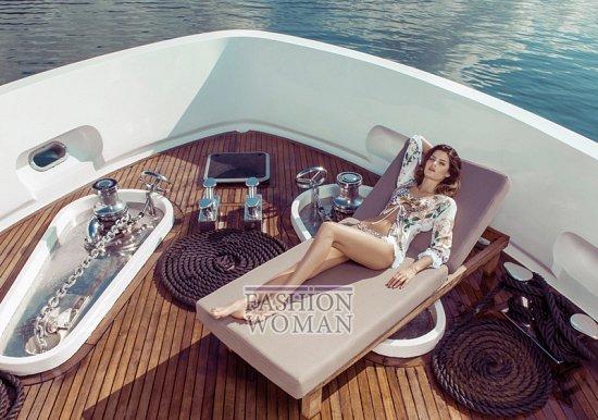 Изабели Фонтана в рекламной кампании пляжной коллекции Morena Rosa фото №2