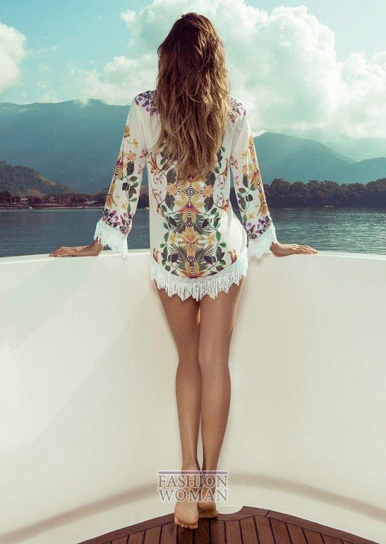 Изабели Фонтана в рекламной кампании пляжной коллекции Morena Rosa фото №4