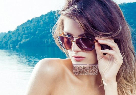 Изабели Фонтана в рекламной кампании пляжной коллекции Morena Rosa фото №5