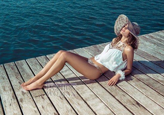 Изабели Фонтана в рекламной кампании пляжной коллекции Morena Rosa фото №6