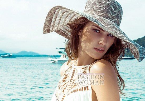 Изабели Фонтана в рекламной кампании пляжной коллекции Morena Rosa фото №7