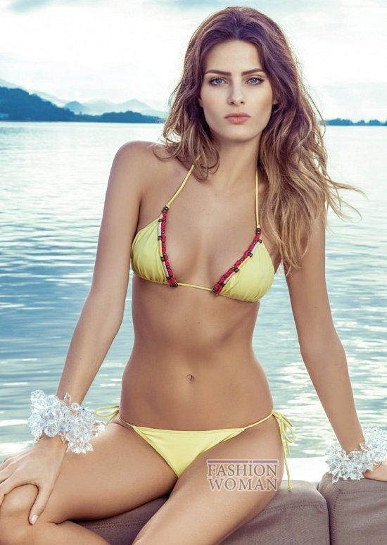 Изабели Фонтана в рекламной кампании пляжной коллекции Morena Rosa фото №8