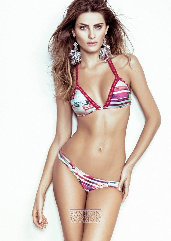 Изабели Фонтана в рекламной кампании пляжной коллекции Morena Rosa фото №11