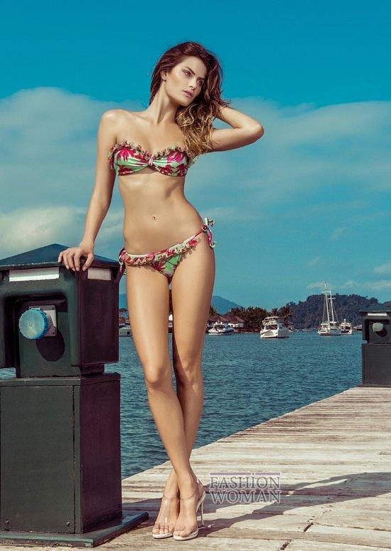 Изабели Фонтана в рекламной кампании пляжной коллекции Morena Rosa фото №12