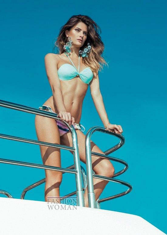 Изабели Фонтана в рекламной кампании пляжной коллекции Morena Rosa фото №16