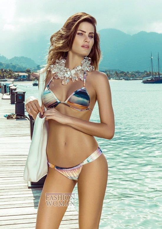 Изабели Фонтана в рекламной кампании пляжной коллекции Morena Rosa фото №17