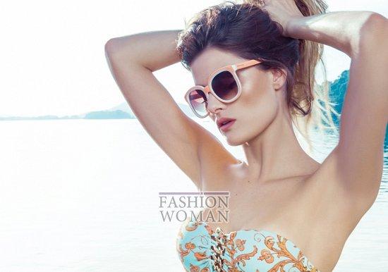 Изабели Фонтана в рекламной кампании пляжной коллекции Morena Rosa фото №22
