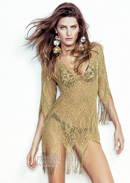 Изабели Фонтана в рекламной кампании пляжной коллекции Morena Rosa фото №24