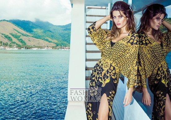 Изабели Фонтана в рекламной кампании пляжной коллекции Morena Rosa фото №25