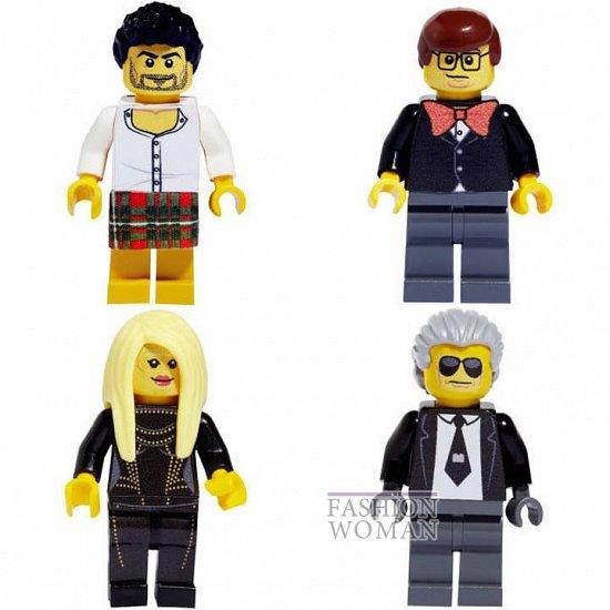 Известные дизайнеры стали фигурками Lego