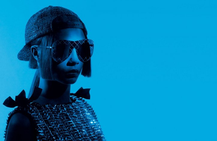 Кара Делевинь в рекламе Chanel Eyewear весна-лето 2016 фото №5