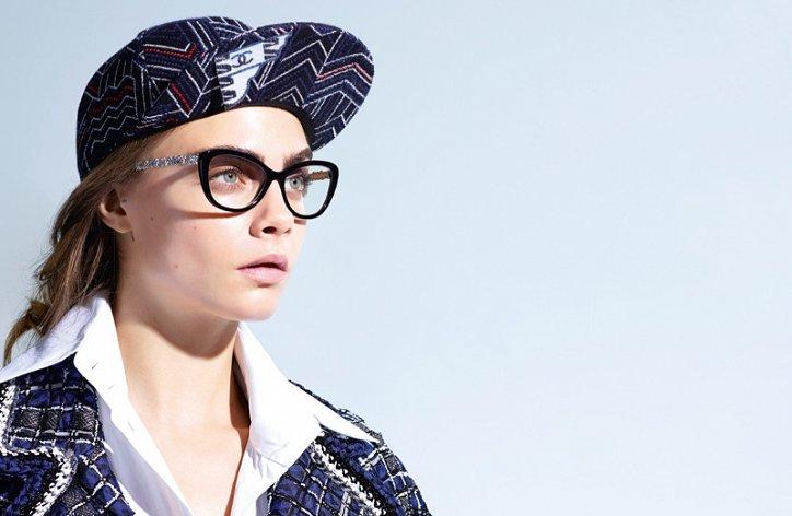 Кара Делевинь в рекламе Chanel Eyewear весна-лето 2016 фото №3
