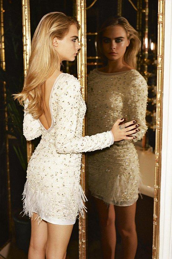 Кара Делевинь в рекламной кампании TopShop фото №9
