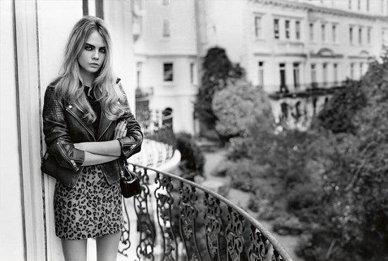 Кара Делевинь в рекламной кампании TopShop фото №4