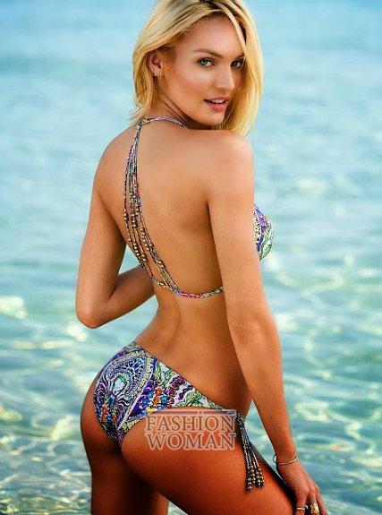 Кэндис Свейнпол в ноябрьском лукбуке Victoria's Secret фото №4