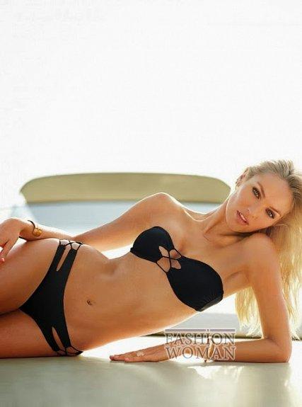 Кэндис Свейнпол в ноябрьском лукбуке Victoria's Secret фото №5