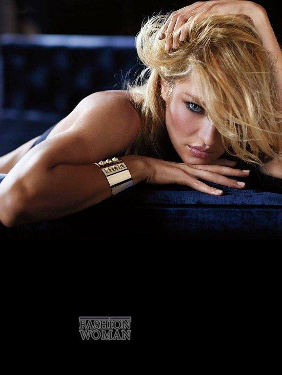 Кэндис Свейнпол в октябрьском лукбуке Victoria's Secret фото №3