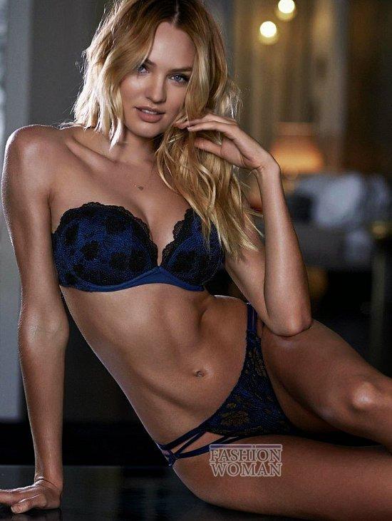 Кэндис Свейнпол в октябрьском лукбуке Victoria's Secret фото №5