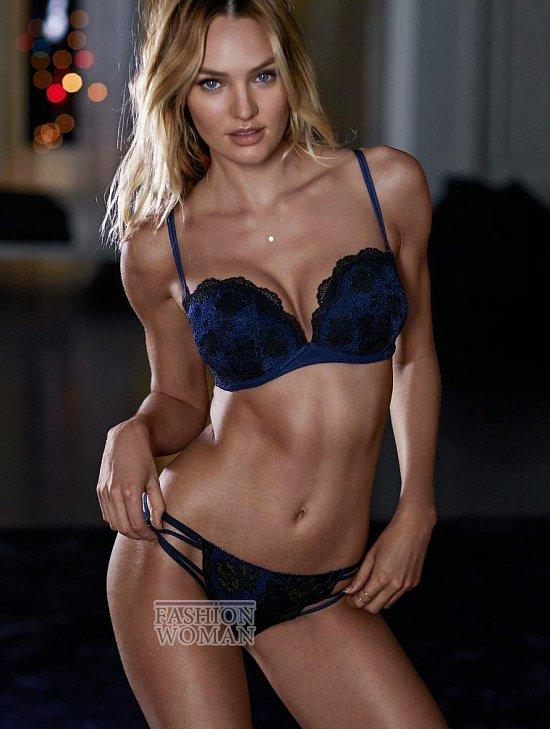 Кэндис Свейнпол в октябрьском лукбуке Victoria's Secret фото №6