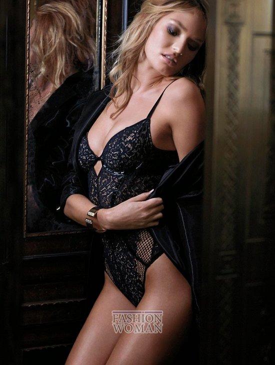 Кэндис Свейнпол в октябрьском лукбуке Victoria's Secret фото №10