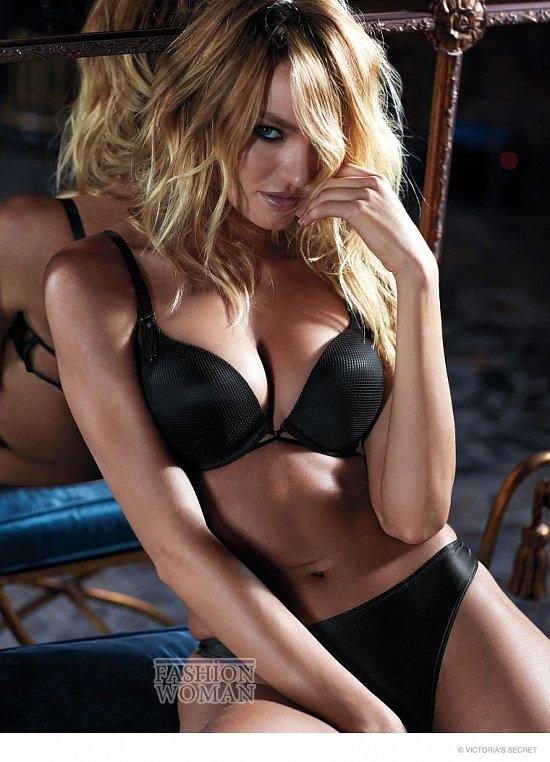Кэндис Свейнпол в октябрьском лукбуке Victoria's Secret фото №11