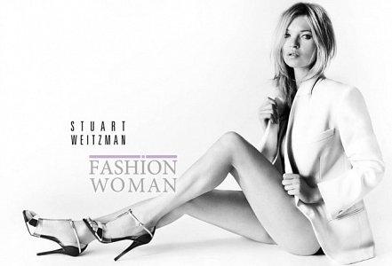 Кейт Мосс в рекламе Stuart Weitzman