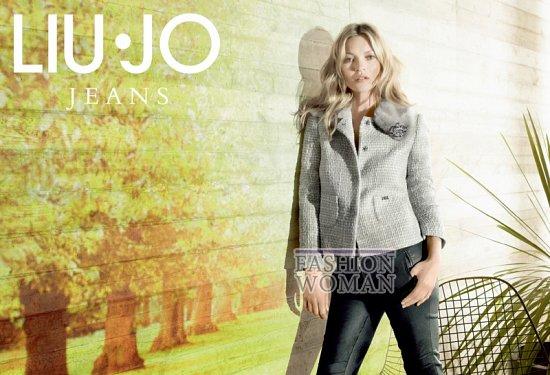 Кейт Мосс в рекламной кампании Liu Jo осень 2013 фото №12