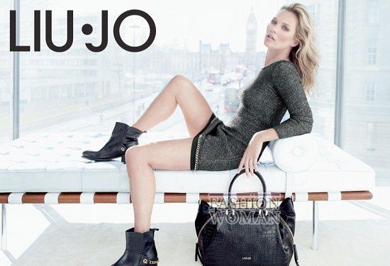 Кейт Мосс в рекламной кампании Liu Jo осень 2013 фото №6
