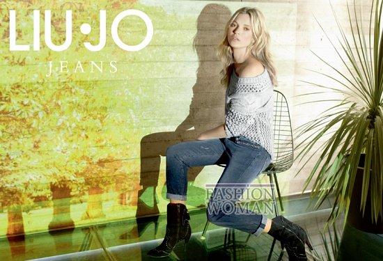 Кейт Мосс в рекламной кампании Liu Jo осень 2013 фото №9
