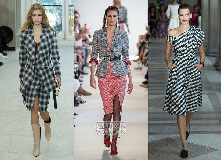 Клетка «виши» - модный тренд сезона фото №4