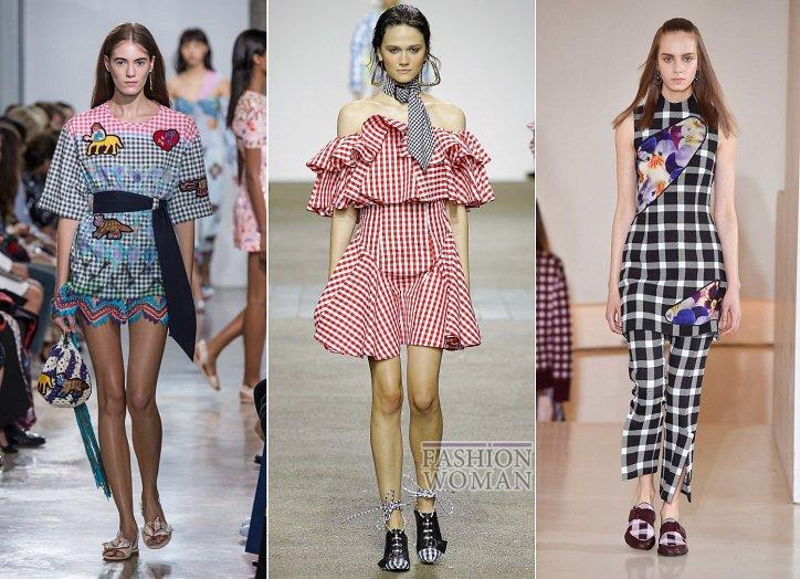 Клетка «виши» - модный тренд сезона фото №5