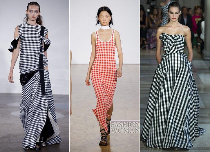 Клетка «виши» - модный тренд сезона фото №7