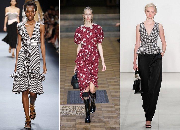 Клетка «виши» - модный тренд сезона фото №6