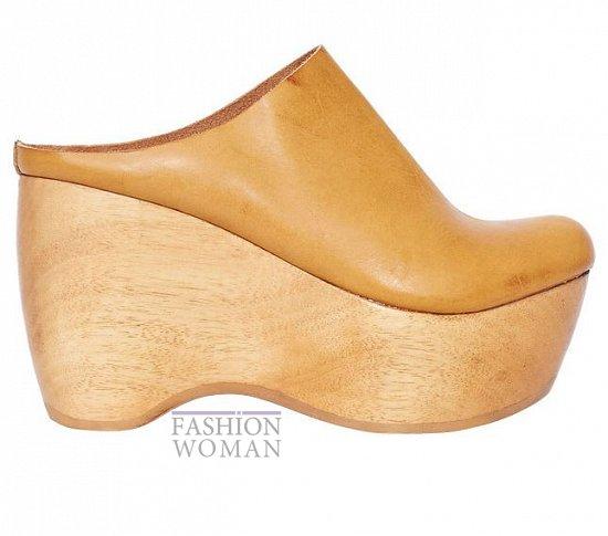 обувь на деревянной подошве
