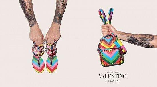 Коллекция аксессуаров Valentino Resort 2015 фото №10