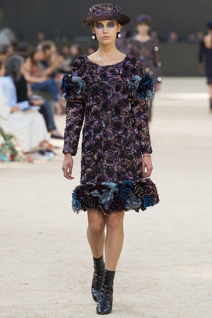 Коллекция Chanel Haute Couture осень-зима 2017-2018 фото №34