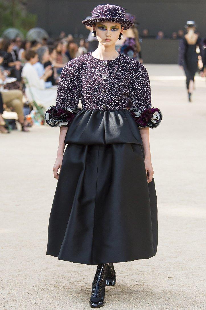 Коллекция Chanel Haute Couture осень-зима 2017-2018 фото №41