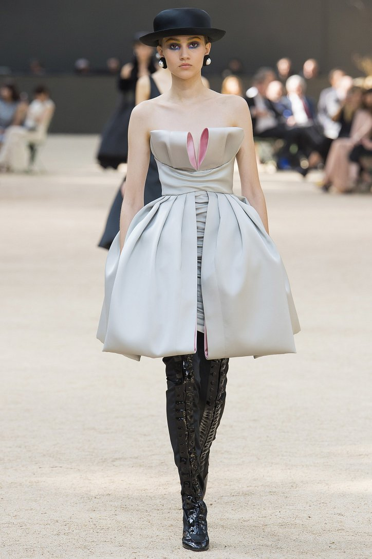 Коллекция Chanel Haute Couture осень-зима 2017-2018 фото №53