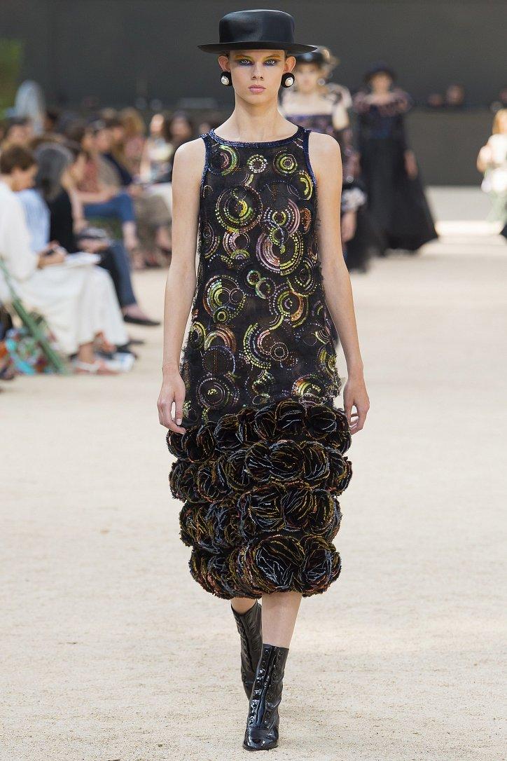 Коллекция Chanel Haute Couture осень-зима 2017-2018 фото №58