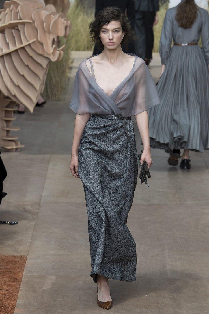 Коллекция Christian Dior Haute Couture осень-зима 2017-2018 фото №15