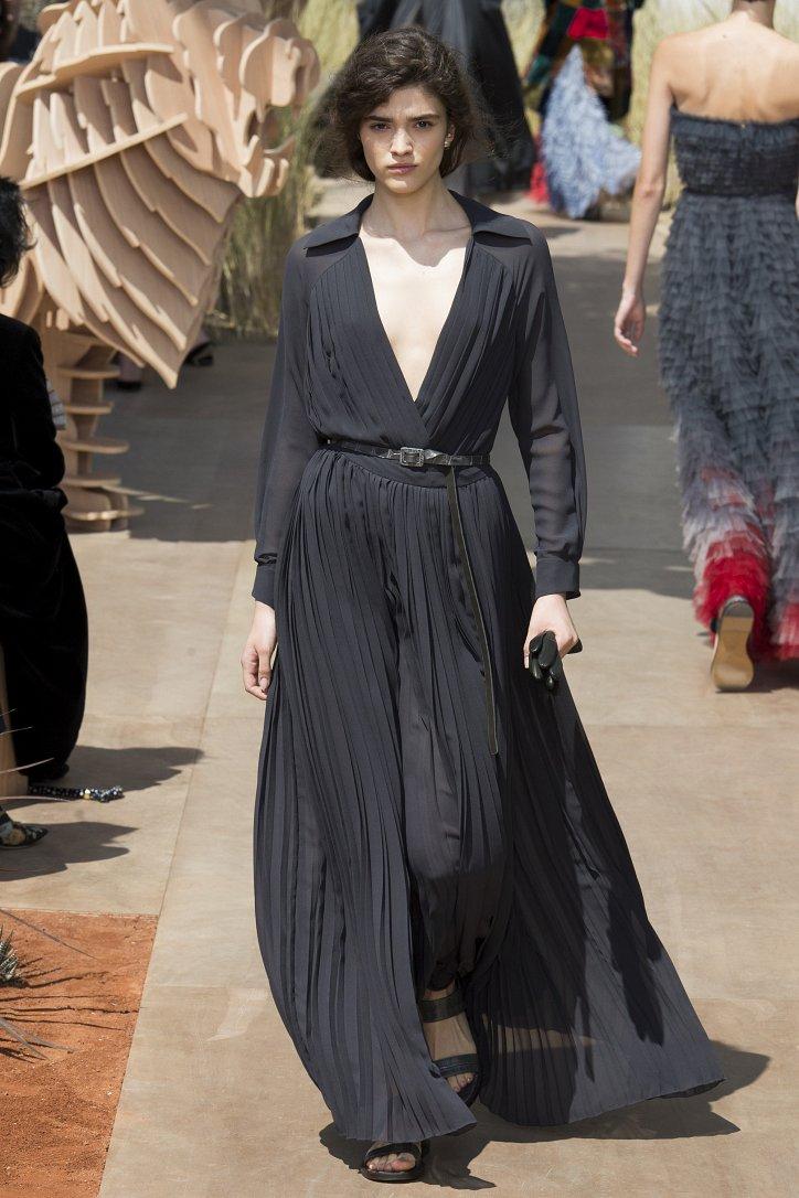 Коллекция Christian Dior Haute Couture осень-зима 2017-2018 фото №36