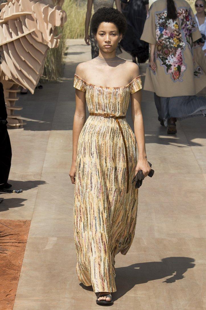 Коллекция Christian Dior Haute Couture осень-зима 2017-2018 фото №46