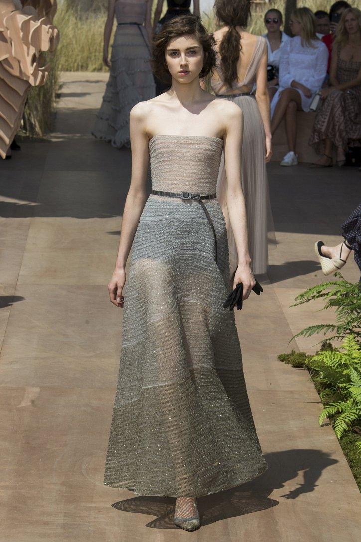 Коллекция Christian Dior Haute Couture осень-зима 2017-2018 фото №65