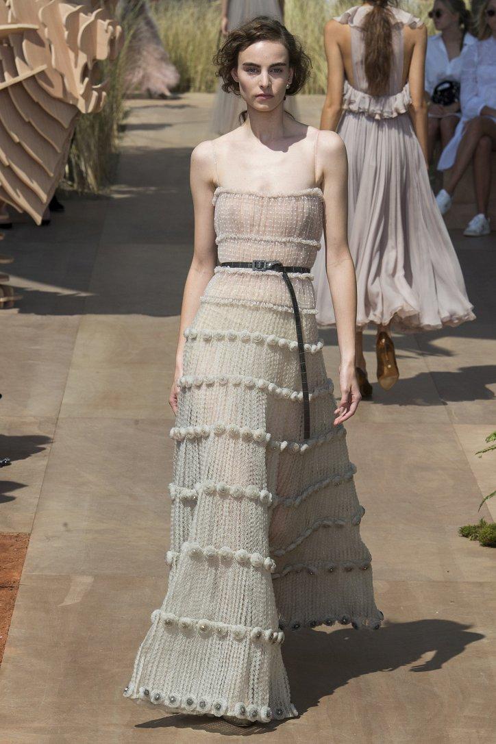 Коллекция Christian Dior Haute Couture осень-зима 2017-2018 фото №66